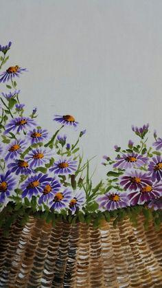 날씨가 많이 추워졌어요 추위를 이기는 나만의 비법꼼짝않고 공방에서 수강생님들과 그림그리기~~바구니에 ... Chrysanthemum, Fabric Painting, Watercolor And Ink, Abstract Art, Embroidery, Plants, Blog, Design, Candy