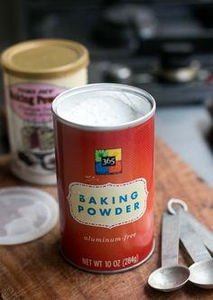 Tips for when baking powder is off and taste superiority of aluminum-free baking powder