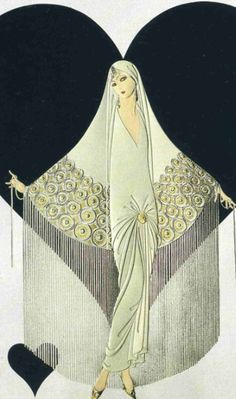 """June Bride"" by Erte                                                                                                                                                                                 More"
