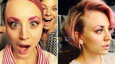 Haarige News! Kaley Cuoco-Sweeting mit pinken Haaren