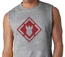 Army 20th Engineer Brigade Sleeveless Shirt