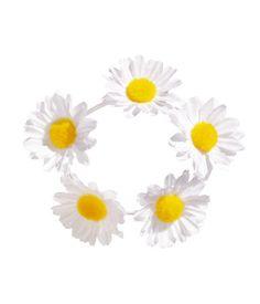 H&M LOVES COACHELLA. Hair elastic with fabric flowers.