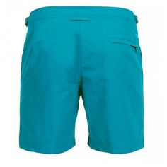 MID-LENGTH NYLON BOARDSHORTS WITH ADJUSTABLE TABS - Mid-lenght Bulldog nylon Boardshorts with two front pockets and a zippered back pocket, adjustable side straps with metal buckle, internal mesh, zip and button fly.  #mrbeachwear #beachwear #swimshort #summer #beach #mens #fashion #orlebarbrown