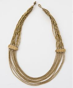 Konjo Necklace, made with love in Ethiopia, $88 #noonday #noondaystyle #noondaycollection @Noonday Collection