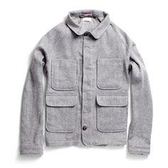 Wool Linen Chore Coat | Huckberry