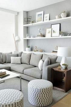 Small Living Room Design must be awesome if you want to make your best fell cozy enough. Here are few tips on how to design a best small living room. Small Living Room Decoration, Small Living Room Design, Elegant Living Room, Living Room Paint, Living Room Colors, Living Room Grey, Small Living Rooms, Living Room Sofa, Home Living Room