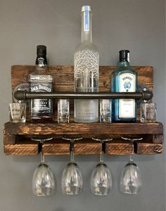 Manufactured in the UK within our workshop, this wine/glass rack will add industrial chic to Wine Glass Rack, Wine Rack Wall, Hanging Wine Rack, Wine Rack Design, Industrial House, Industrial Pipe, Modern Industrial, Industrial Architecture, Modern Home Bar