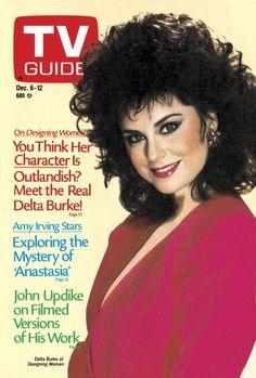 TV Guide December 6, 1986 - Delta Burke of Designing Women