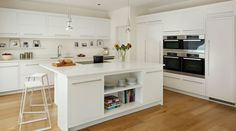 Open-Plan Family^Linear Kitchen Gallery