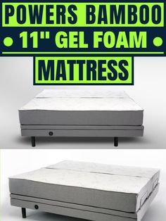 Gel Foam mattress sale! Discount Bedding, Foam Mattress, Bed Frame, Bamboo, Pillows, Storage, Furniture, Home Decor, Purse Storage