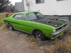 1971 Dodge Demon. Poor girl needs some love and attention