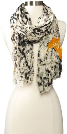 Michael Stars Women's Bird Tattoo Scarf for only $22.80 You save: $25.20 (52%)