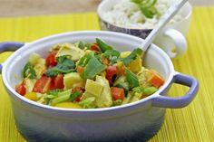 Paleo vriendelijke kip curry   www.keukenrevolutie.be