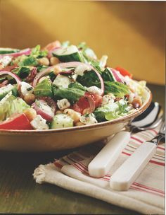 Five Natural Ways to Fill Up on Fiber (including this delicious Big Fat Greek Salad)