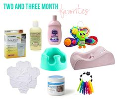 Little Baby Garvin: Two & Three Month Must Haves