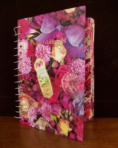 Shabby Chic – Once Upon A Rose Address Book – Victorian Flowers Roses | eBay