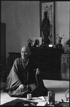 Shunryu Suzuki Roshi., Zen Priester, kam 1959 nch San Francisco und hat maßgeblich für das Bekanntwerden und die Verbreitung von Zen Buddhismus im Westen gesorgt.