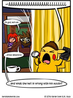 Related image Yoshi, Detective, Pikachu, Disney Characters, Fictional Characters, Anime, Image, Art, Anime Shows
