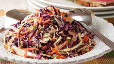 Salad from cabbage and carrots