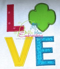 Set of 3 Scout Love and Filled Trefoil Applique Embroidery Design Girl Pillow Embroidery, Applique Embroidery Designs, Machine Embroidery Applique, Embroidery Files, Girl Scout Trefoil, Girl Scout Shirts, Daisy Girl Scouts, Reading Pillow, Pillow Quotes