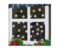 Christmas Snowflakes Window Wall Decoration Vinyl Removable Sticker 19pcs snow in Vehicle Parts & Accessories, Car, Truck Parts, Decals, Badges, Detailing | eBay