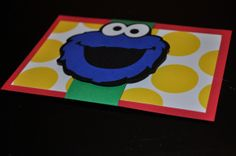 Cookie Monster invitations