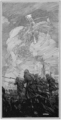 Franklin Booth, (July 1874 – August was an American artist known for his detailed pen-and-ink illustrations. He had a unique illustration styl. Gravure Illustration, Illustration Art, Franklin Booth, Stylo Art, Arte Sketchbook, Ink Pen Drawings, Ink Pen Art, Arte Horror, Ink Illustrations