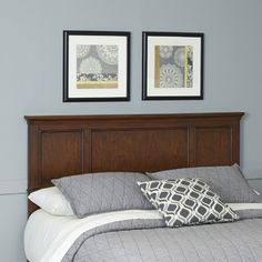 Home Styles Chesapeake Wood Headboard & Reviews | Wayfair