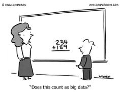 """""""Does this count as big data?"""""""