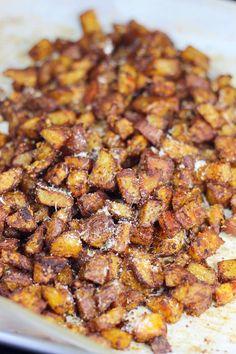 Crispy Parmesan RoastedPotatoes