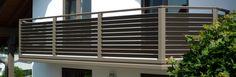 Balkonverkleidung Kelkheim Taunusstein kaufen Balcony Privacy, Privacy Glass, Balcony Grill, Steel Railing, Rooftop, Blinds, Curtains, Interior, Gardening