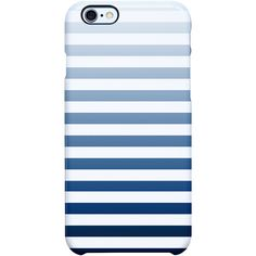 Uncommon Its Simple Stripe iPhone 6 Plus SS Deflector Case (€25) ❤ liked on Polyvore featuring accessories, tech accessories and tech