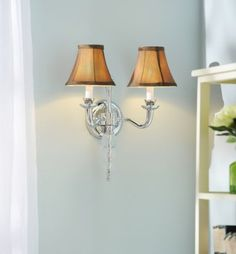 A sconce that will make you light up #kirklands #hollywoodglamour #wall #sconce