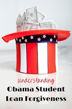 Obama Student Loan Forgiveness is a program created by President Obama technically called Pay As You Earn (PAYE). It can lower student loan payments for borrowers. Pay off Debt, Student Loan Debt #debt