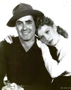 Tyrone Power and Maureen O'Hara - The Long Gray Line ... one of my favorites!