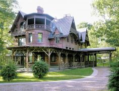 The Mark Twain House - This National Historic Landmark is also known for its varied paranormal activity that's led to several paranormal investigations.