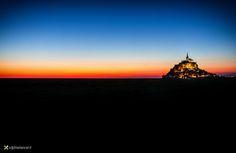 Mont Saint Michel by Vittorio Delli Ponti on 500px
