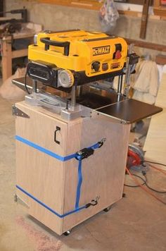 dewalt planer stand. dewalt 735 chip collection/stand #5: results and lessons learned - by blackbear planer stand