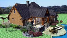 House Plan 65862 | Cottage Craftsman Tudor Plan with 2091 Sq. Ft., 3 Bedrooms, 3 Bathrooms, 2 Car Garage at family home plans