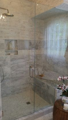Carrera Marble Bathroom By Palmer Design Group Inc