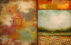 """Saatchi Art Artist Cheryl Warrick; Painting, """"Two and Two"""" #art"""