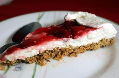 SPLENDID LOW-CARBING BY JENNIFER ELOFF: Cherry Cheese Pie
