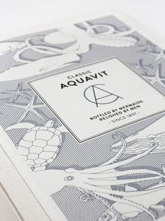 Classic Aquavit by Nina Brandt, via Behance