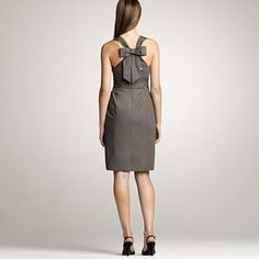 same JCrew dress from back - little, why arent you on pinterest yet, they have this in green?