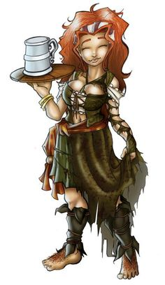 pathfinder halfling sailor - Google Search