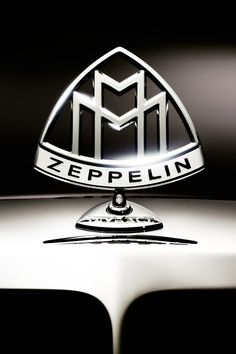 Maybach Zeppelin, love this hood ornament.