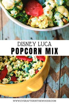 Disney Luca Popcorn Mix - a cute sea themed snack while watching the new Disney Pixar film Luca #luca #disneyluca Popcorn Mix, Popcorn Snacks, Pretzel Treats, Birthday Party Desserts, Swedish Fish, Disney Snacks, Chocolate Covered Pretzels, Chocolate Shavings, Group Meals