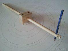 Compas de varas fácil de hacer