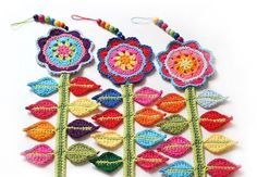 free Ravelry download  Ravelry: Happy Flower Decoration pattern by Lucy of Attic24