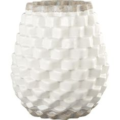 Crate & Barrel: Rati Vase (527750)  $24.95  *like the basketweave appearance, but don't know about bottom and top exposed parts